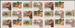 Aus SG3751b Farming Australia self-adhesive booklet pane (SB408) of 20